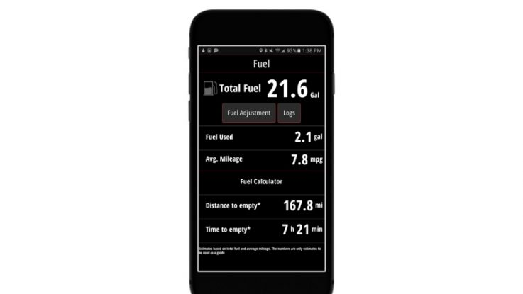 Mercury engine data now available on your mobile device